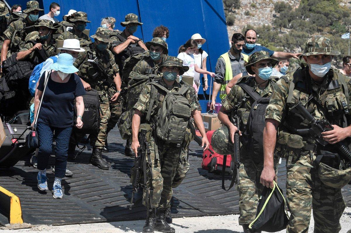 Греческие войска переброшены на Кастелоризо