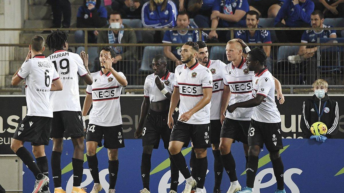 El Niza se impone en Estrasburgo (0-2) y lidera la Ligue 1