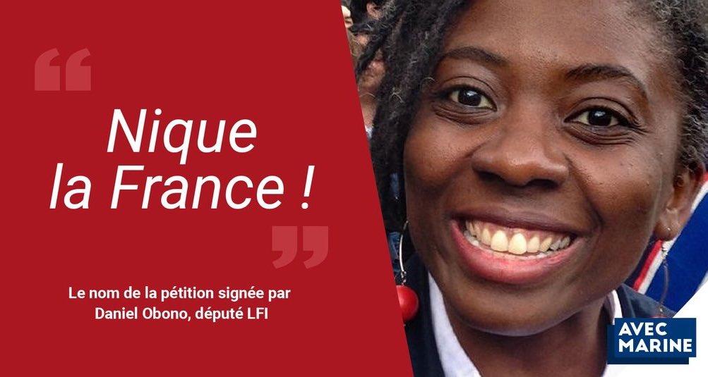 """Baboune on Twitter: """"Celle là même qui a souscrit à une pétition """"Nique la  France"""" et valide les paroles d'une chanson de ZEP au nom de la liberté  d'expression mais qui n'a"""