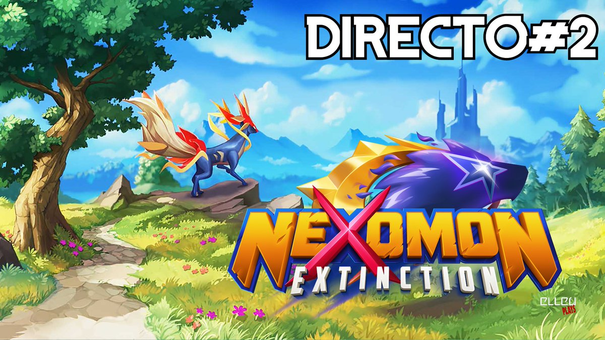 ⚠️Hoy 10 Pm. Nexomon: Extinction #2 / PC - Directo SOLO por Youtube ⚠️  Youtube!  https://t.co/FbQxopXQvD  #elleu #nexomonextinction  #nintendoswitch #yaestapagado #gameplay #gameplays #elleuplays #instagamer #streamer #mexico https://t.co/mQTpqULuEv
