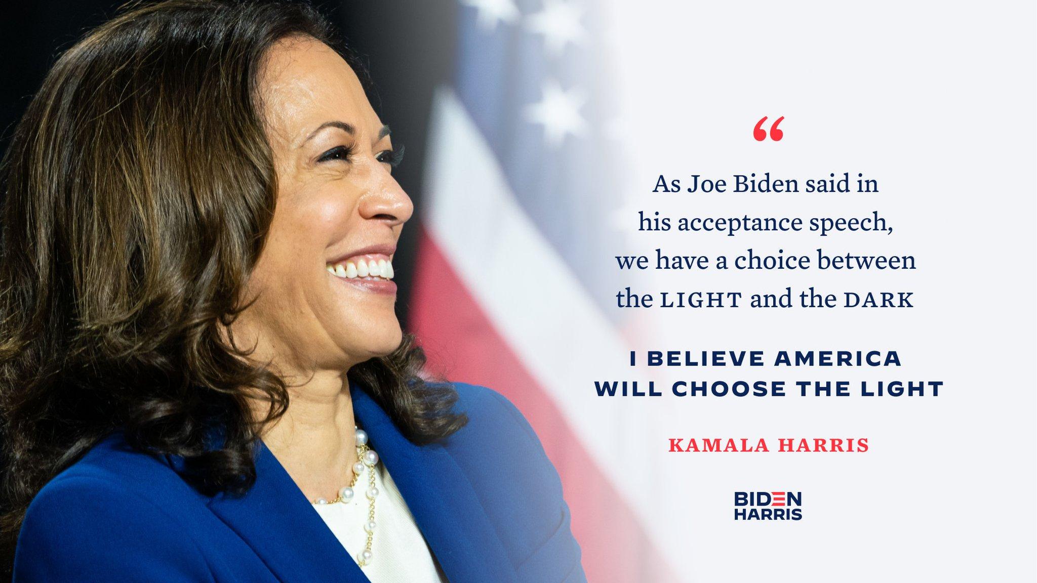 Kamala Harris On Twitter November 3rd Vote