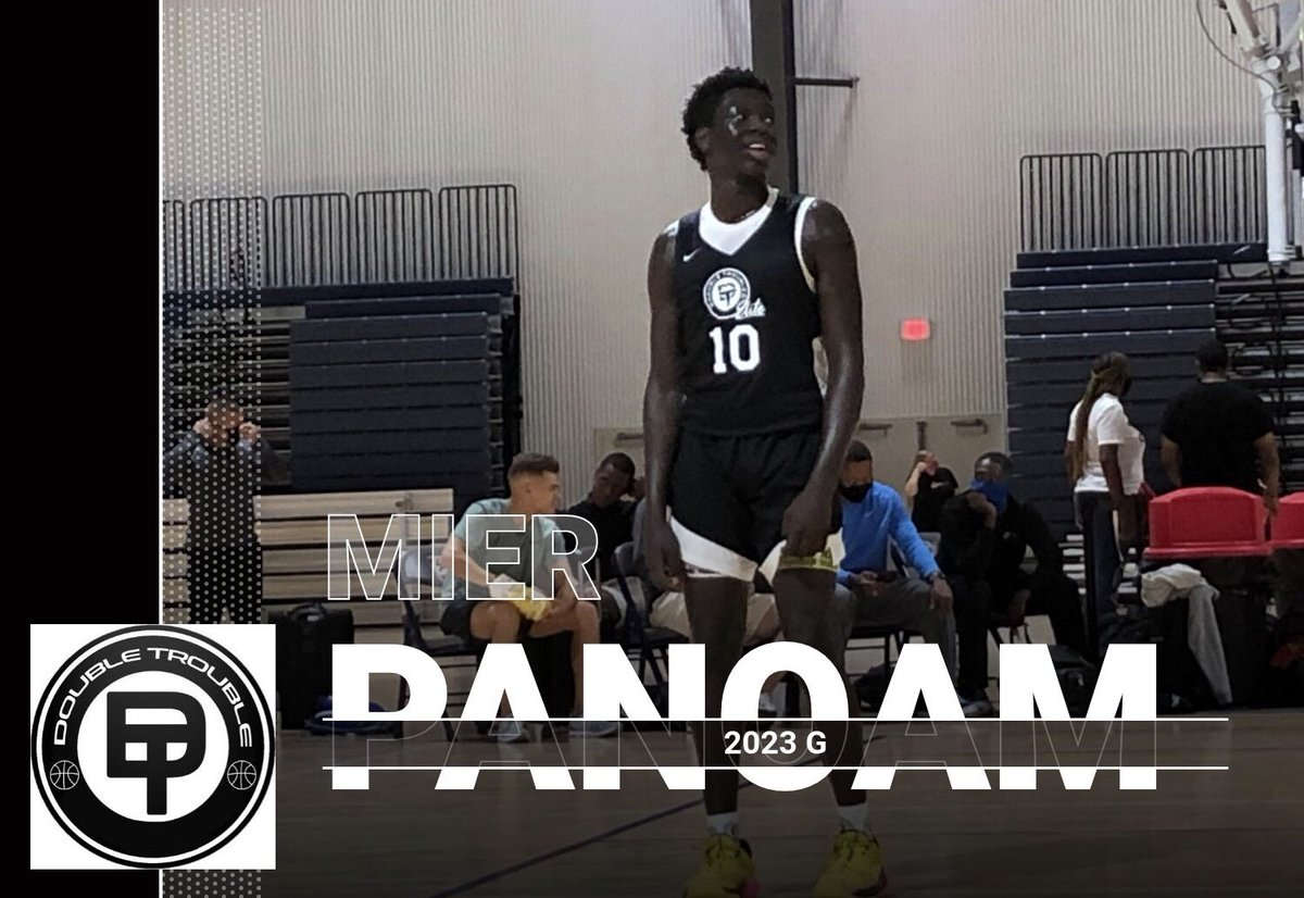 Mier Panoam averaged 20.5 PPG, 7.5 RPG, & 2.5 SPG in 2 games today. He's a powerful but smooth guard who gets in the paint at will and finishes in a variety of ways. Long arms, physical, and plays above the rim. It looks like he'll be the next young stud to come through Norcross. https://t.co/Y9XitN6vuL