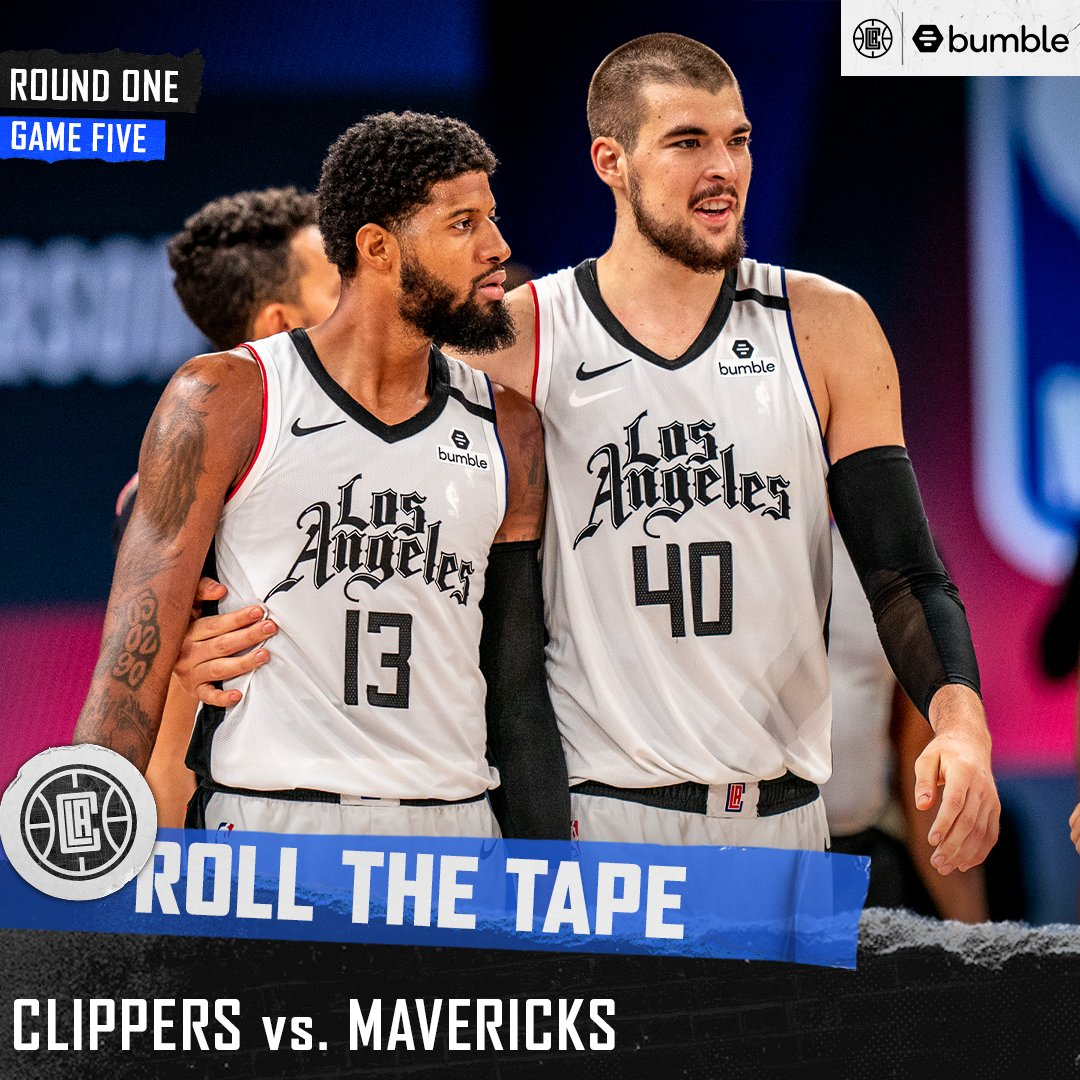 Previously on Clippers basketball...  Roll The Tape: Round One, Game Five https://t.co/38WnqkGlM2