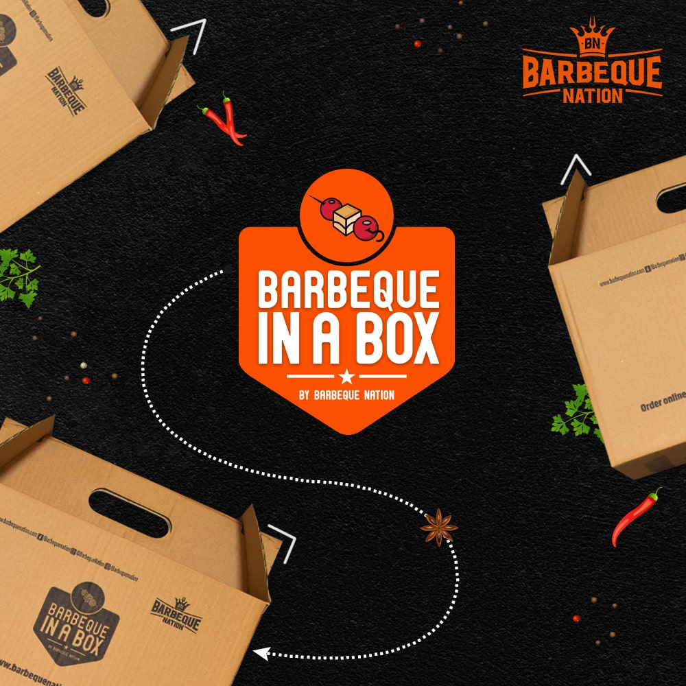 Celebrate birthdays, anniversaries, get-together, while we deliver your favourite dishes from Barbeque Nation @ your door step with BBQ in a box. For Delivery / Takeaway : https://t.co/oa3mRQEOlW https://t.co/81MkNeEkCV