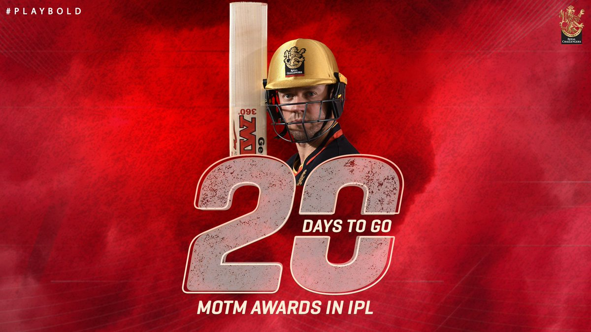 ABD had his first practice session of the season last night! How excited are you to see those 360 degree hits? The countdown has begun. #PlayBold #IPL2020 #WeAreChallengers