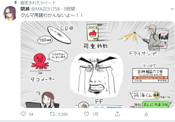 """間瀬 on Twitter: """"クルマ用語わかんないよ~!!… """""""