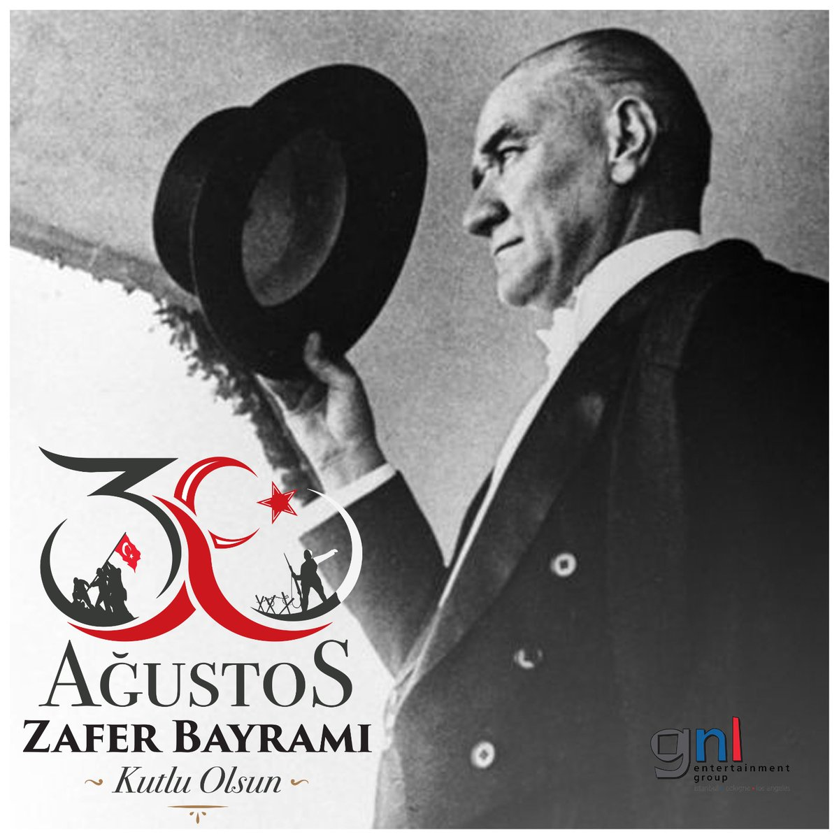 30 Ağustos Zafer Bayramımız Kutlu Olsun! 💫 #30Agustos https://t.co/c2rWJaDUmK