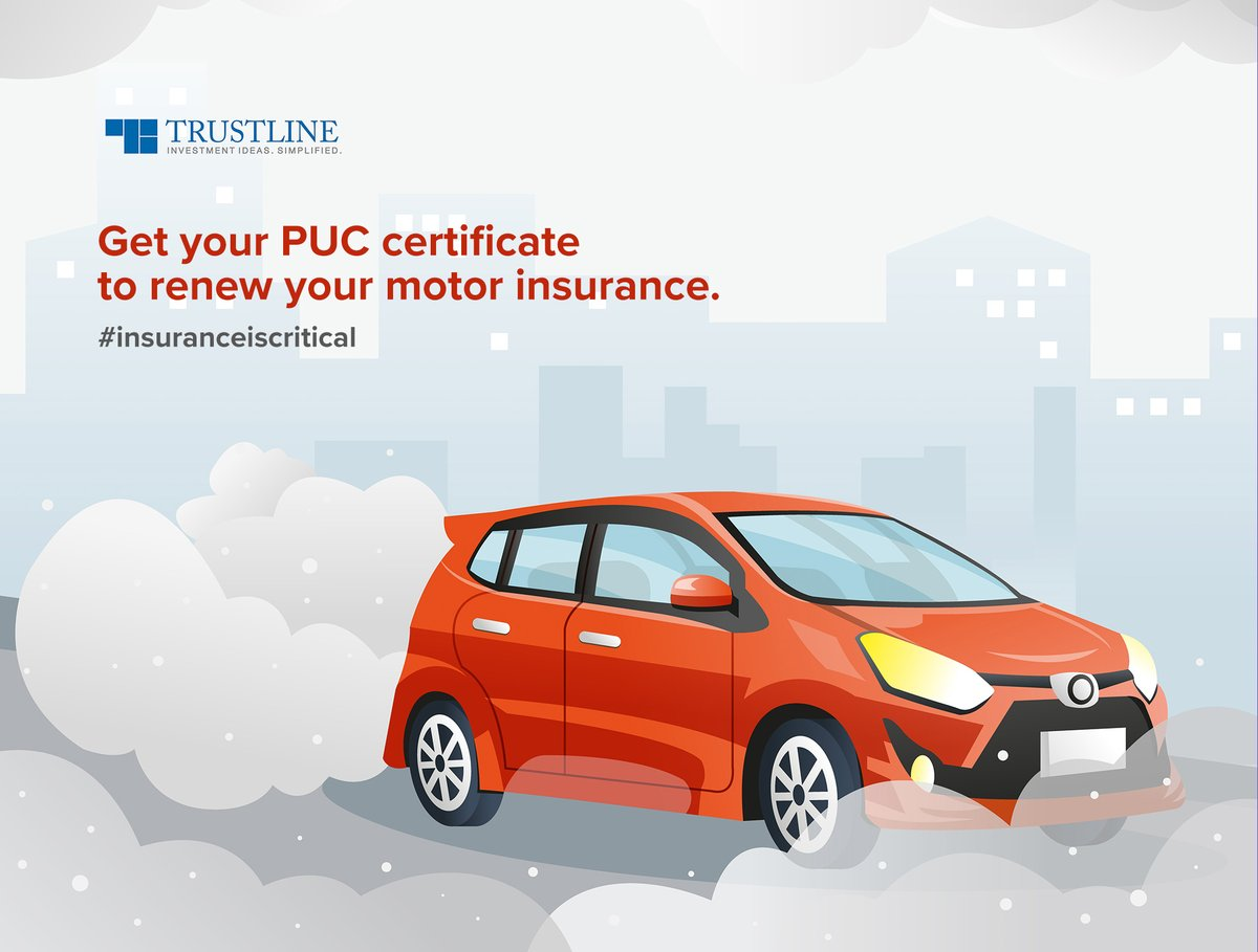 Suppose a vehicle's PUC certificate's validity is expired during the time of the accident. In that case, the insurance companies will not cover any damages. So, the pollution license is essential for all claims. #insuranceiscritical https://t.co/obGvnaM0ol https://t.co/gpBD37HmLg