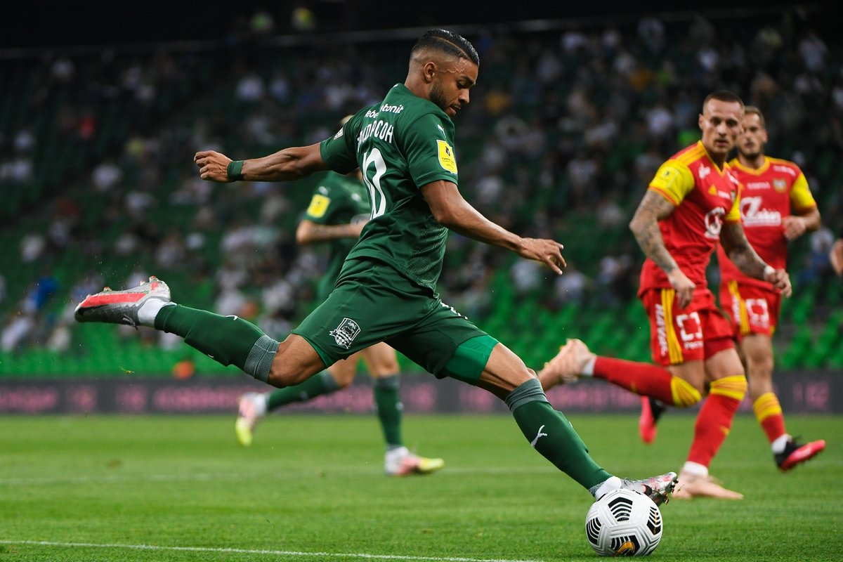 Russian Premier Liga On Twitter Wanderson Stats 4 Matches Goal 2 Assists 72 Passing Accuracy 74 Successful Take Ons Rpl Krasnodar Andrey Shramko Fc Krasnodar Https T Co Wpbybxdssi