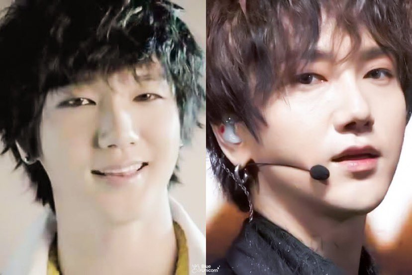 Same hairstyle 💙 i miss Mr. Simple era 🥺 @shfly3424 ✨ #내사랑예성 #SUPERJUNIOR #슈퍼주니어 #SuperJuniorKRY #슈퍼주니어KRY #YESUNG #김종운 #예성 https://t.co/F87pZgmv7M