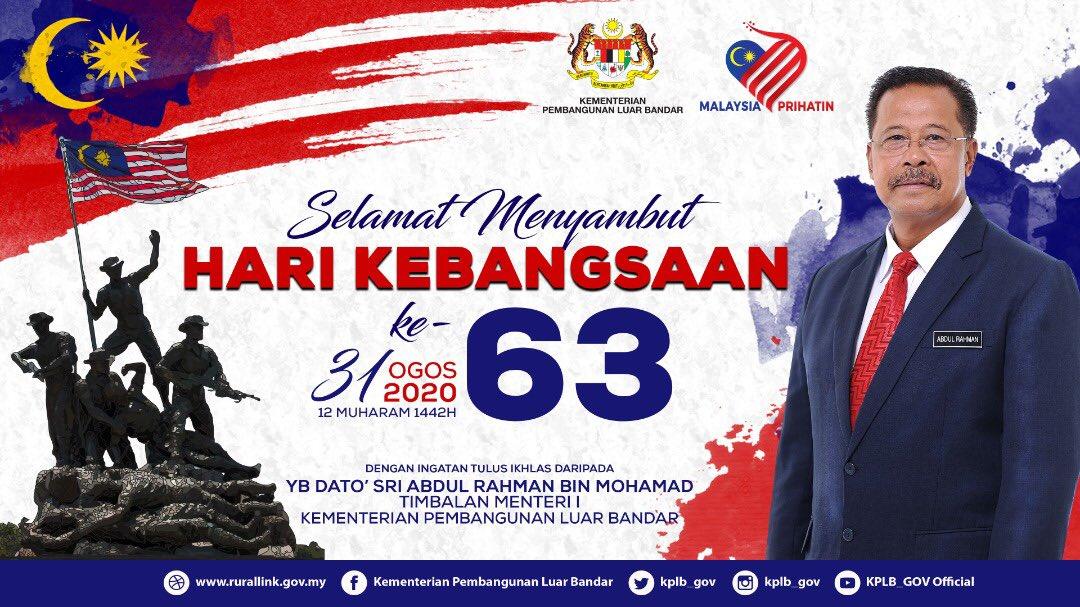 Uzivatel Kplb Na Twitteru Selamat Menyambut Hari Kebangsaan Yang Ke 63 Tahun Kepada Seluruh Rakyat Malaysia Semoga Negara Kita Terus Aman Dan Makmur Merdeka Merdeka Merdeka Kplb Luarbandarsejahtera Merdeka Https T Co Ktmfg3mglh