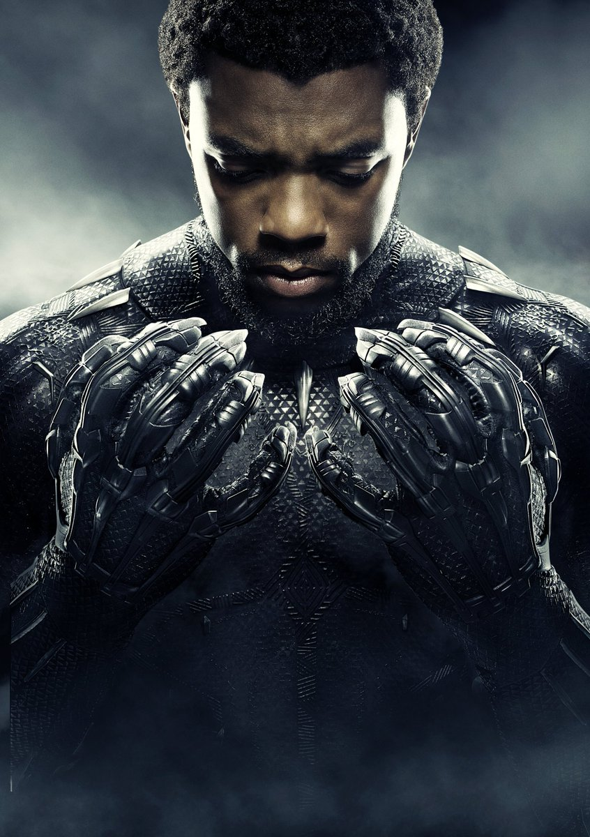 @chadwickboseman, the man can act. What a career hes had. His dexterity on screens is incredulous. His adeptness in his roles are just overwhelming. You have clearly fulfilled your purpose on earth. #WakandaForever #BlackPanther #chadwickbosemanRIP