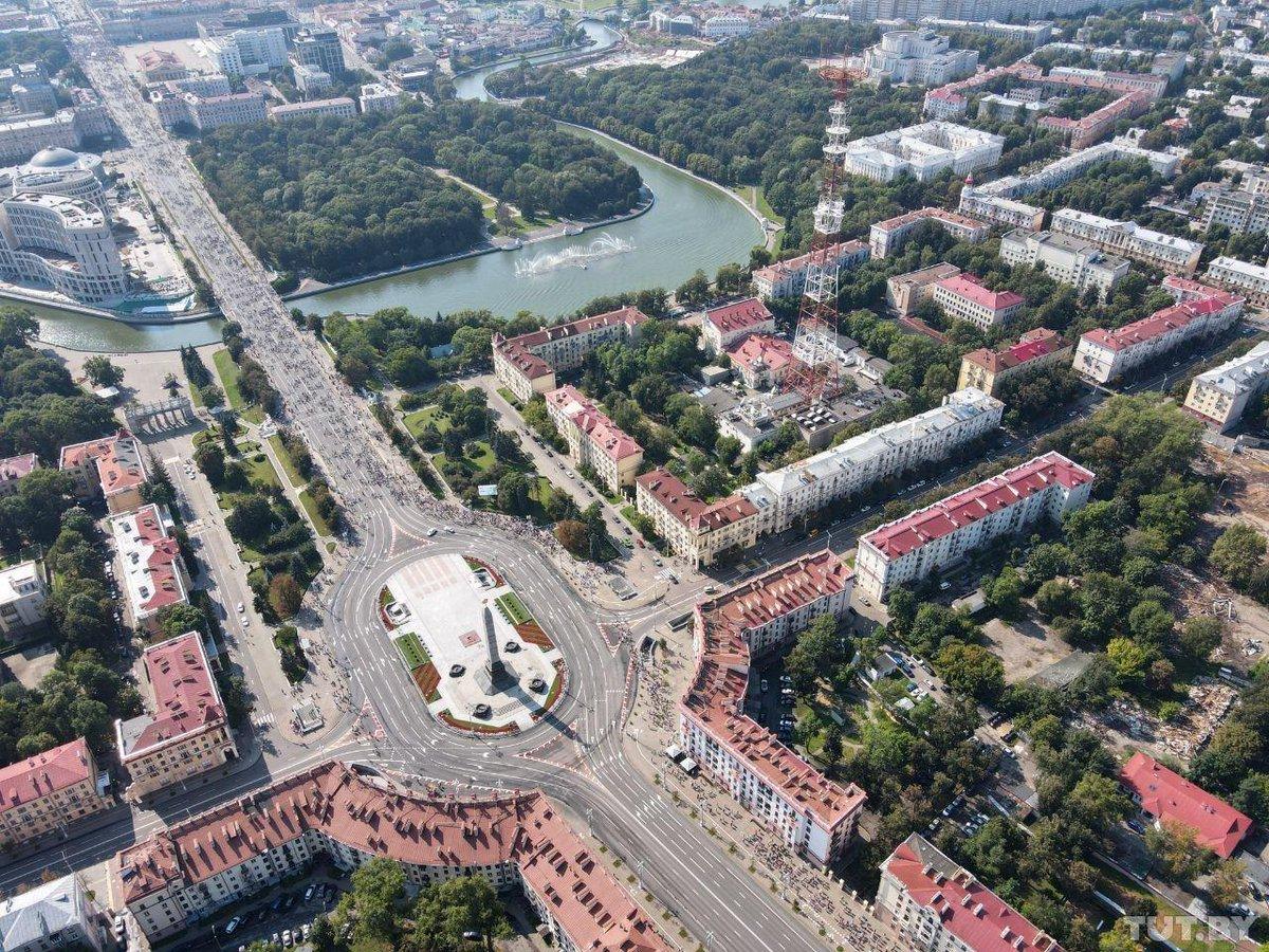 Марш мира и независимости в день рождения Лукашенко