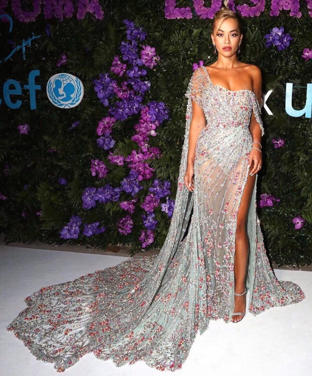 My first event and carpet since lockdown!!! Such a pleasure and thank you @UNICEF for having me back this year as a performer and ambassador, I'm so proud of all the work you are doing 🥰🥰🥰🥰✨✨✨ @ralphandrusso   #LVRxUNICEF #LVRinCAPRI @GettyImages @LuisaViaRoma @ronanparkk https://t.co/uzCLab176V
