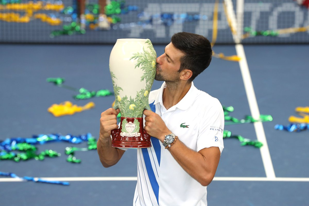 Thank you for all your positive energy and support. Thanks to everyone here in New York who made @CincyTennis possible again. It feels really good to be back 🏆 #idemooo #teamdjokovic #nolefam #cincytennis https://t.co/tT6OXMjrJK