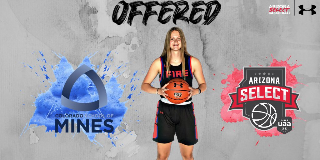 🔴Offer Alert⚫️  Congratulations to @PaigeYarbrough5 on her D2 offer from @MinesWBB! Hard work pays off!   @AZSelectGirlsBB @AZSelectRecruit @GirlsUAA @UnderArmour https://t.co/7iEYT6D27H