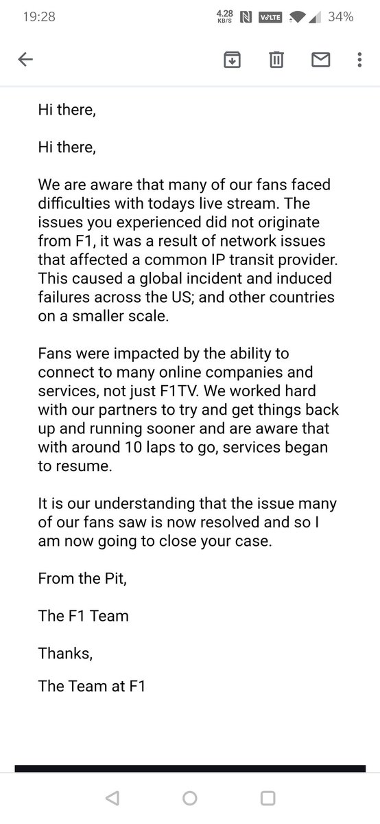 Hi @F1   Is this your solution? What about a refund for the missed race? https://t.co/9KvJv4TExF