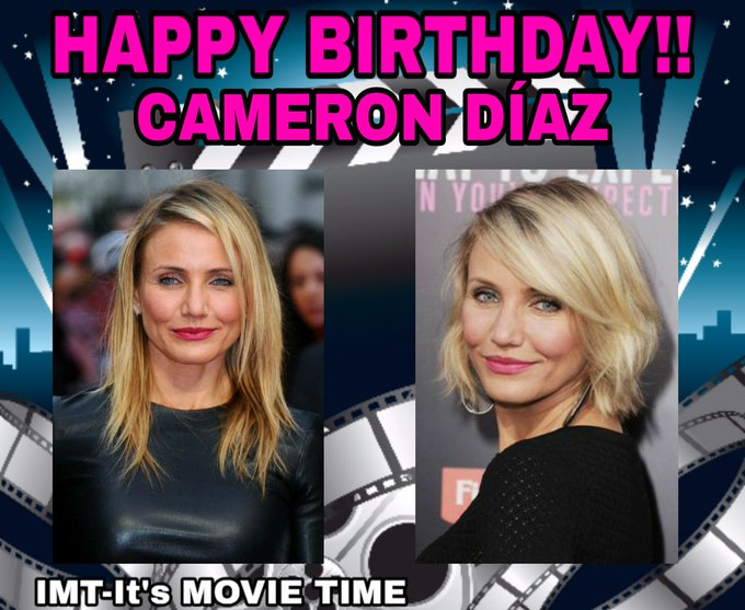 Happy Birthday to the Beautiful Cameron Díaz! She is celebrating 48 years.