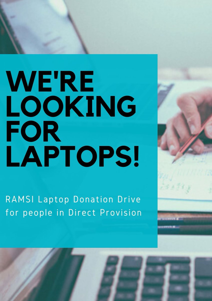 Laptop Donation Drive for people in Direct Provision! Organised by RAMSI and Cooking for Freedom. Please email us at refugeeandmigrantsolidarity@gmail.com if you can help. More info in thread below. Pls RT. #EndDirectProvision #DirectProvision #DigitalDivide @masi_asylum https://t.co/wHvsefHXw4