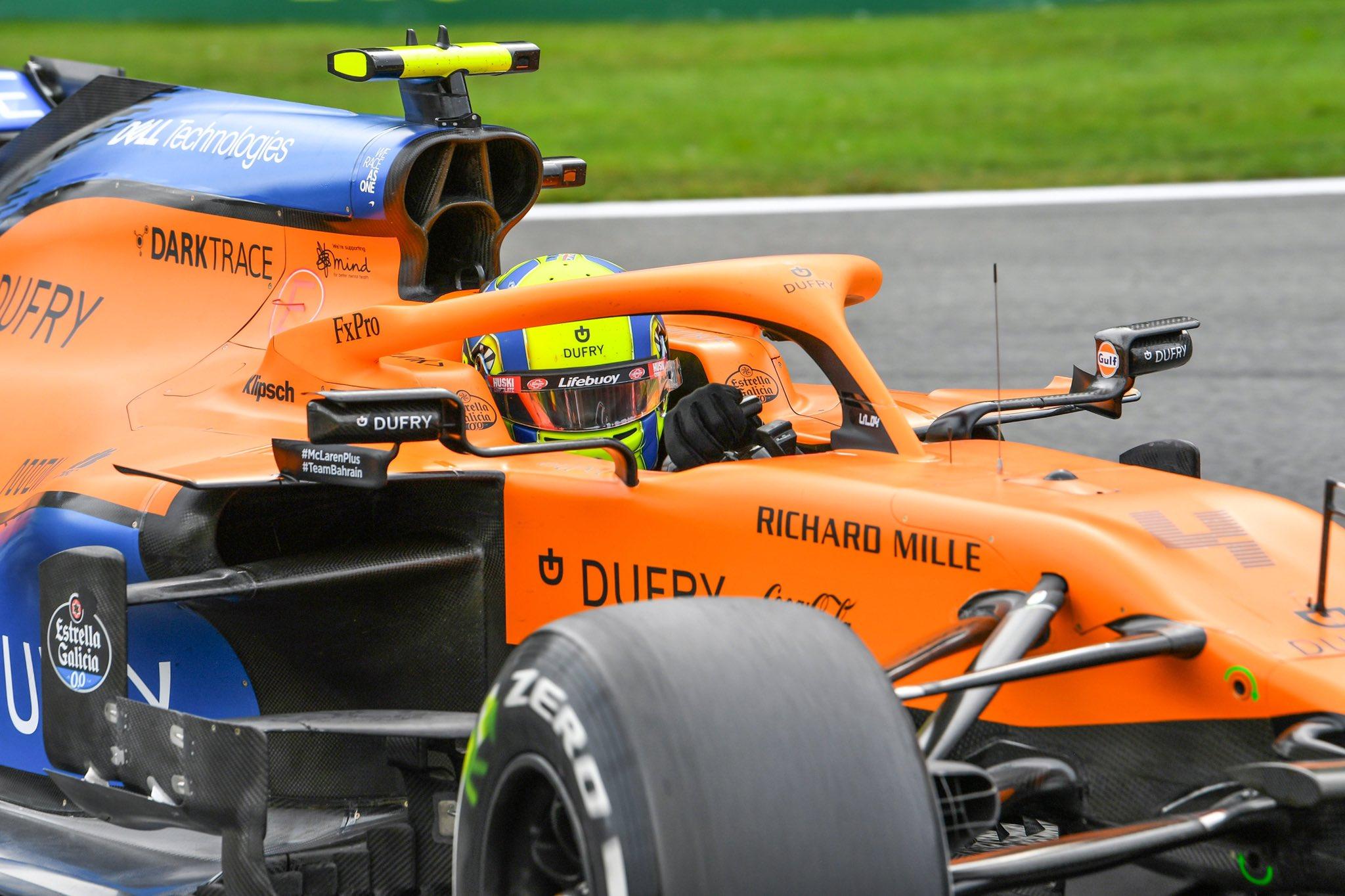 GP Italia Anteprima McLaren