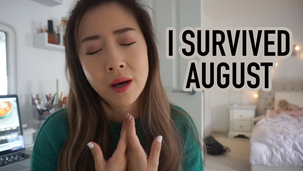 Not gonna lie, August was a month of taking bullet after bullet 😵... but I survived it!!! 🙌 https://t.co/l1PAUcxS4B https://t.co/iMPU8gE8yF