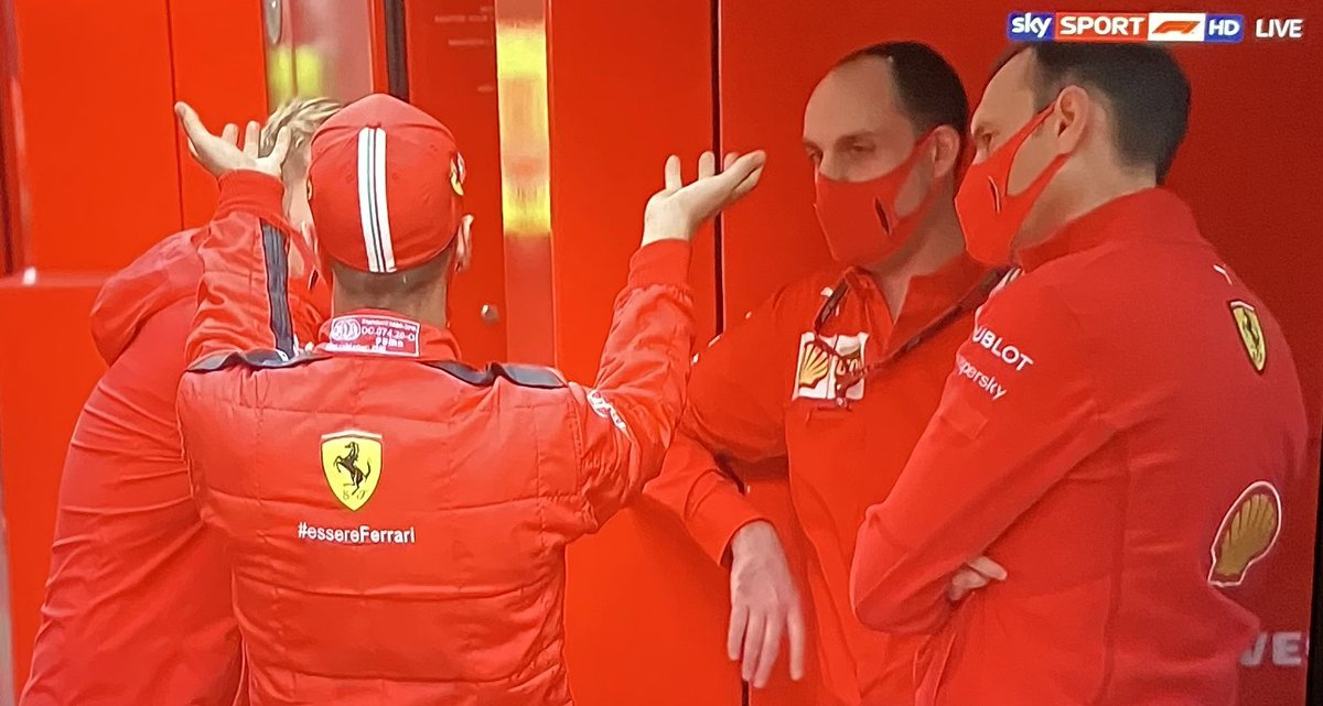"""""""This is my plan before Monza. We'll get on our knees, beg and pray to whichever higher entity will listen to us..."""" #F1reactions https://t.co/f4Q5ioHRG4"""