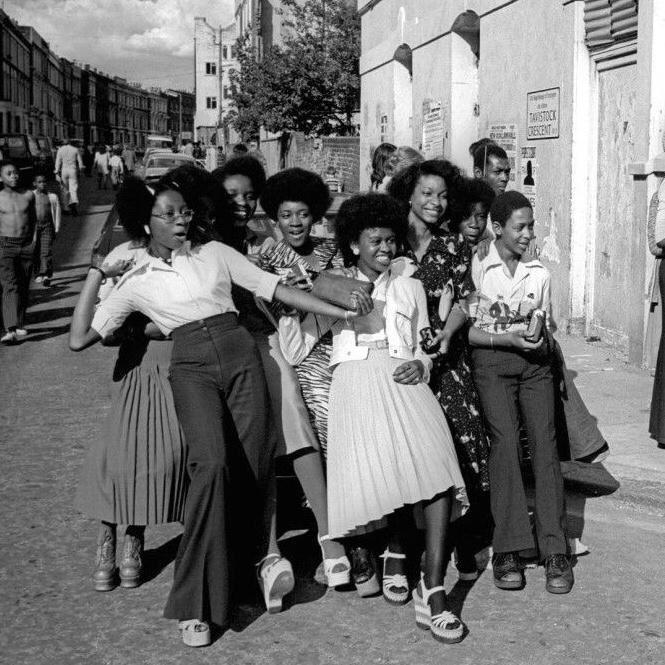 My mum and her mates at Notting Hill Carnival in the 70s 🤩