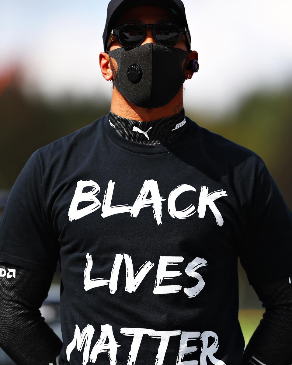 It's been an emotional weekend, I want to dedicate this win to Chad and his family, he was such an inspiration and his legacy will live on. I'm posting this image because we must continue to fight for equality, nothing has changed yet and the battle continues. #BlackLivesMatter