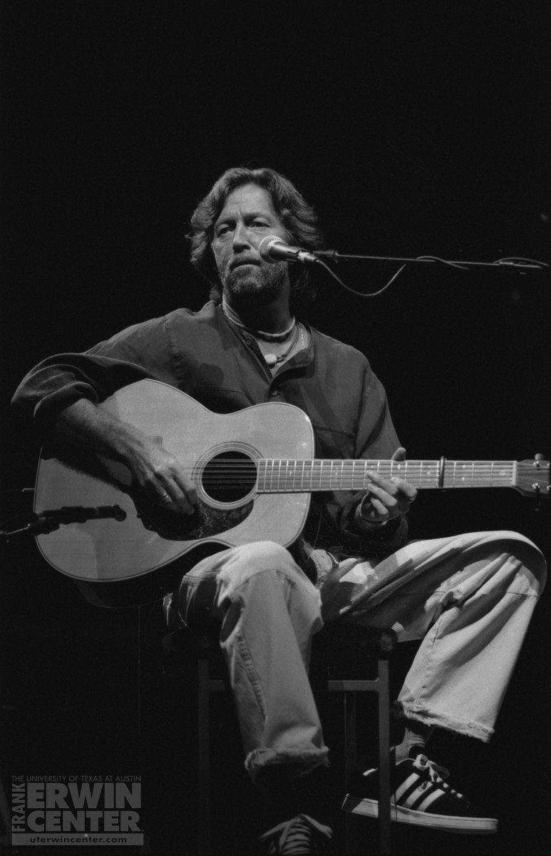 ON THIS DAY: Legendary guitarist @EricClapton brought his live show to the @ErwinCenter in 1995! 🎸