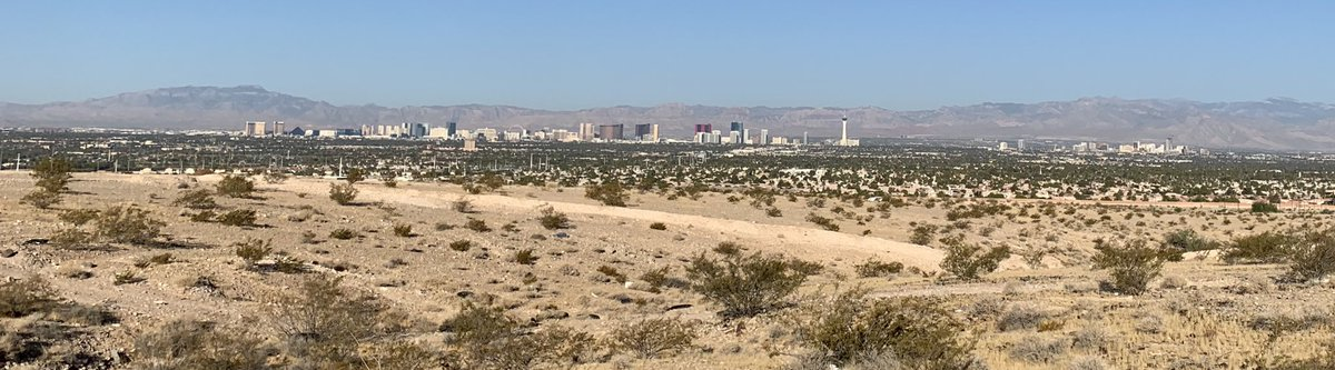 View from my morning hike this morning #LasVegas https://t.co/dh95x5YiNG