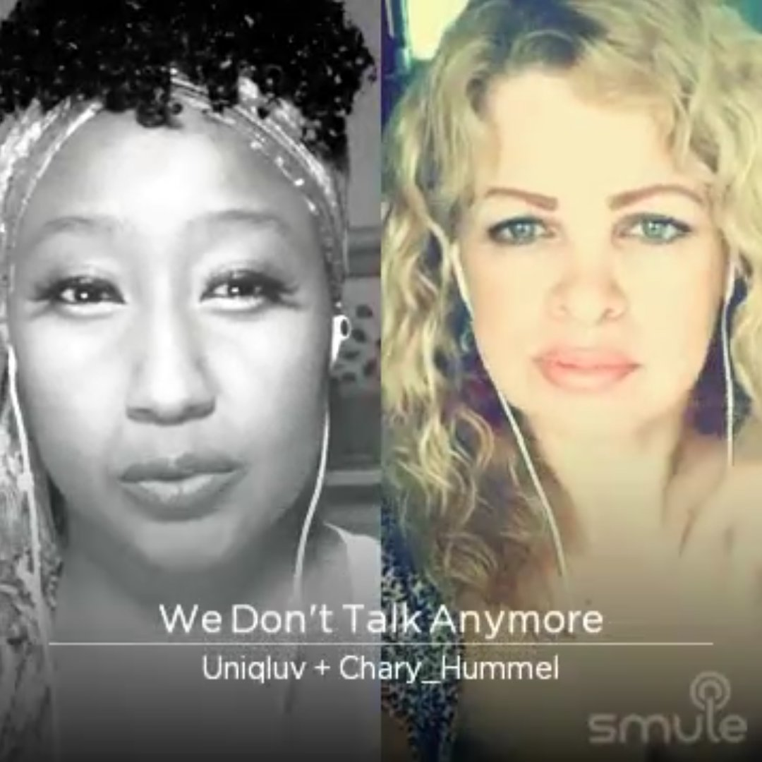 """""""We Don't Talk Anymore"""" on #Smule: https://t.co/BTp8TF49OY  #music #video #musiclove  #newmusic #nowplaying #smule #smuleid @Uniqluv #smulekaraoke #cove  #smulevideo #karaoke #instasmule #singer #coversong #smulesing #sing https://t.co/3XwfF5UNfh"""