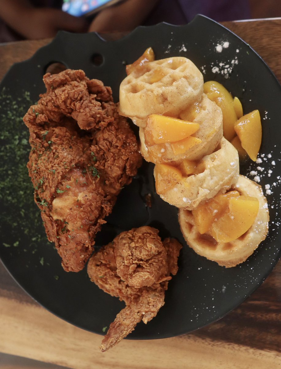 Dubbs On Twitter Lamb Chops X Lobster Chicken And Peach Cobbler Waffles Oxtail And Grits Dusse Watermelon Frozes Spot Is Legit From The Newly Opened Black Owned Spot True Kitchen