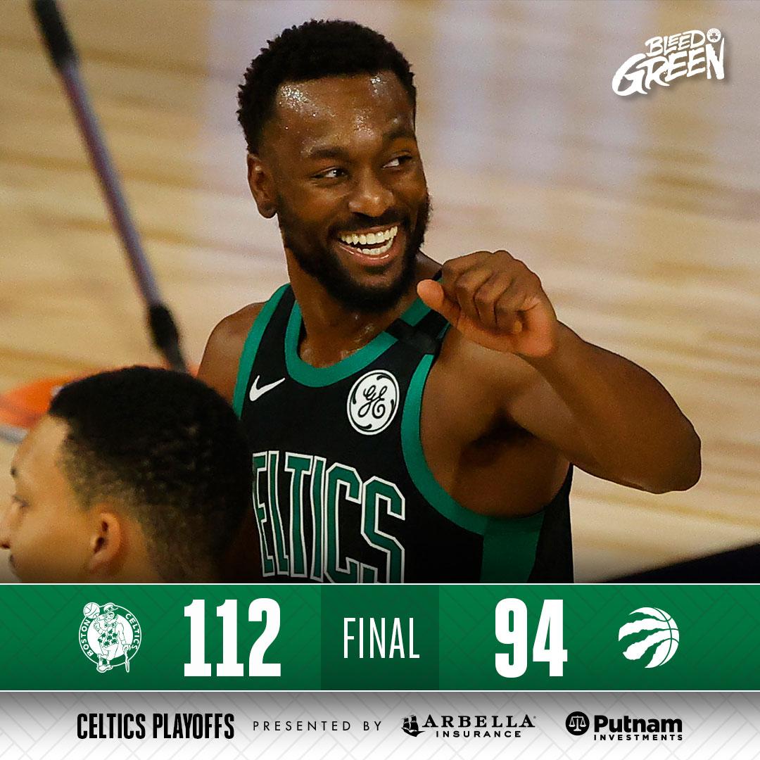 1-0 ☘️ #CelticsWin https://t.co/jWypjFXkY3
