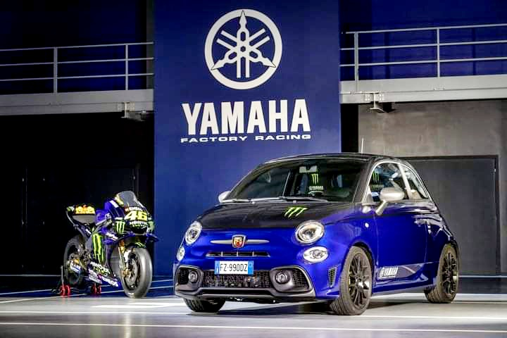 So @abarth @abarthuk have released another limited edition in the form of the Abarth 595 Monster Energy Yamaha... Nice.   #abarth #abarth595 #monster #yamaha #limitededition #gumball3000 #gumballlife #weare22 https://t.co/kOtW80sqag