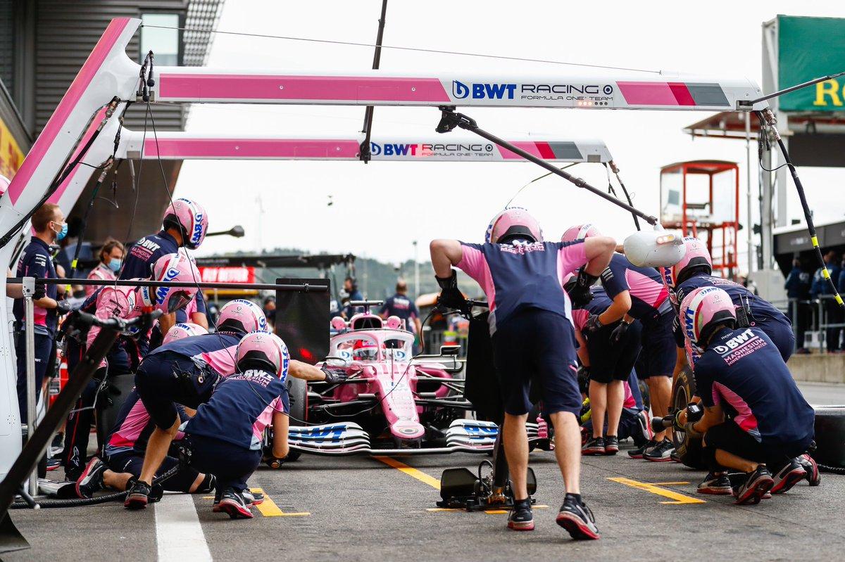 Como equipo perdemos y ganamos juntos. Vamos a analizar las cosas para regresar más fuertes a Monza.  Siempre al final es más fácil entender la estrategia. #NeverGiveUP  #BelgianGP https://t.co/Li8ElcUK3P