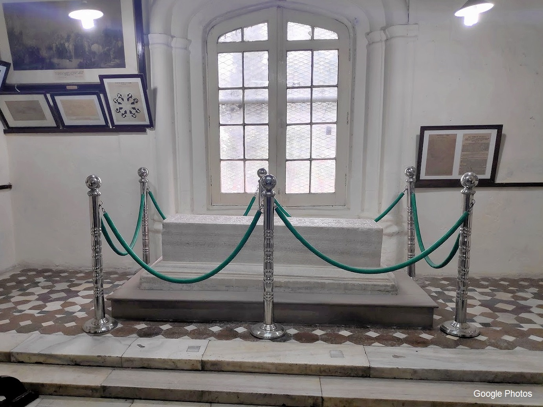 Marble Sarcophagus.