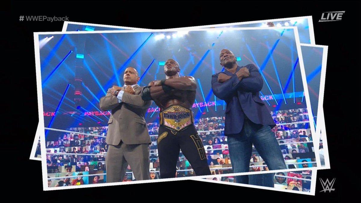 Bobby Lashley On The Hurt Business Honoring Chadwick Boseman At WWE Payback