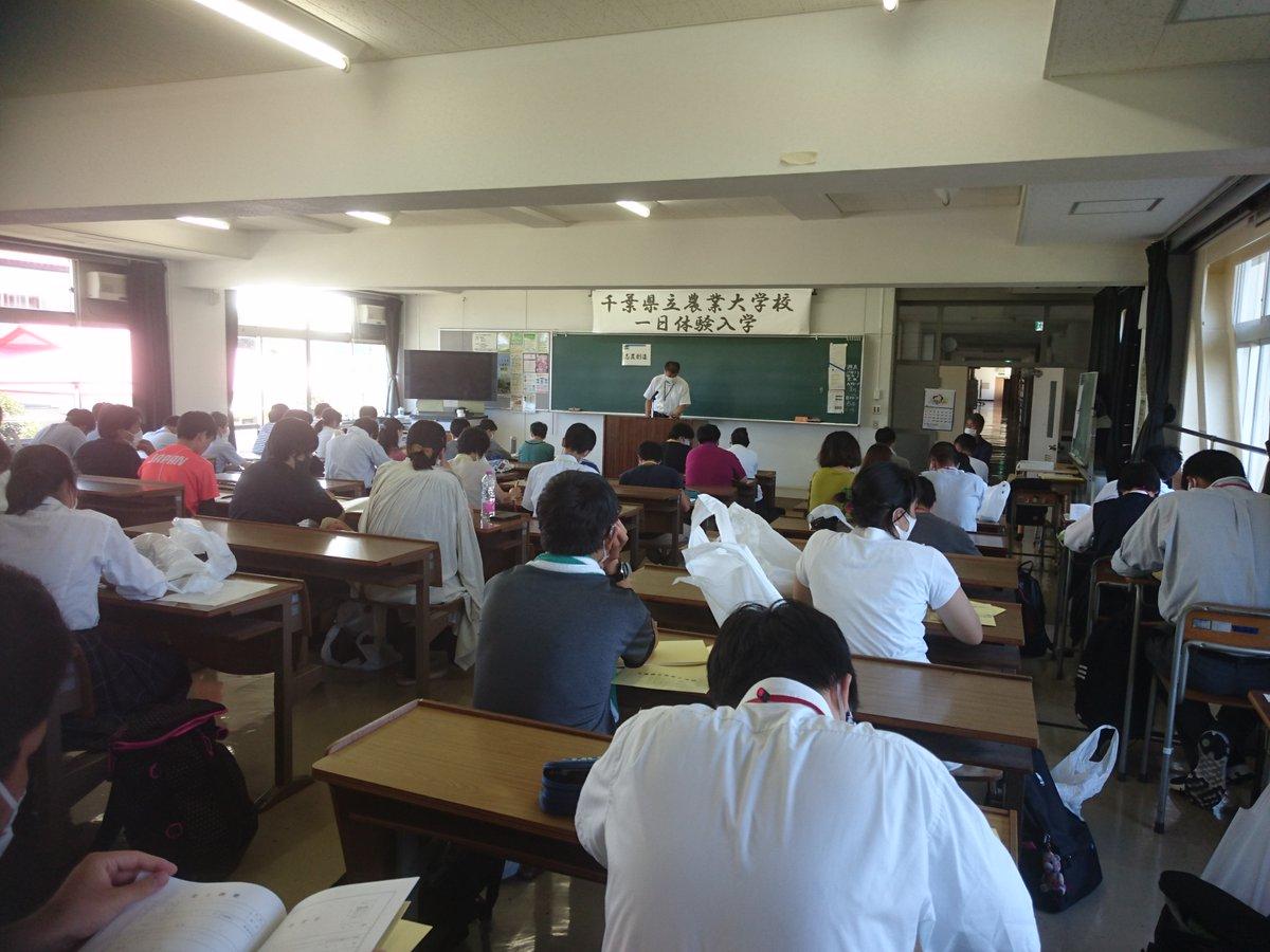 大学 校 千葉 県立 農業