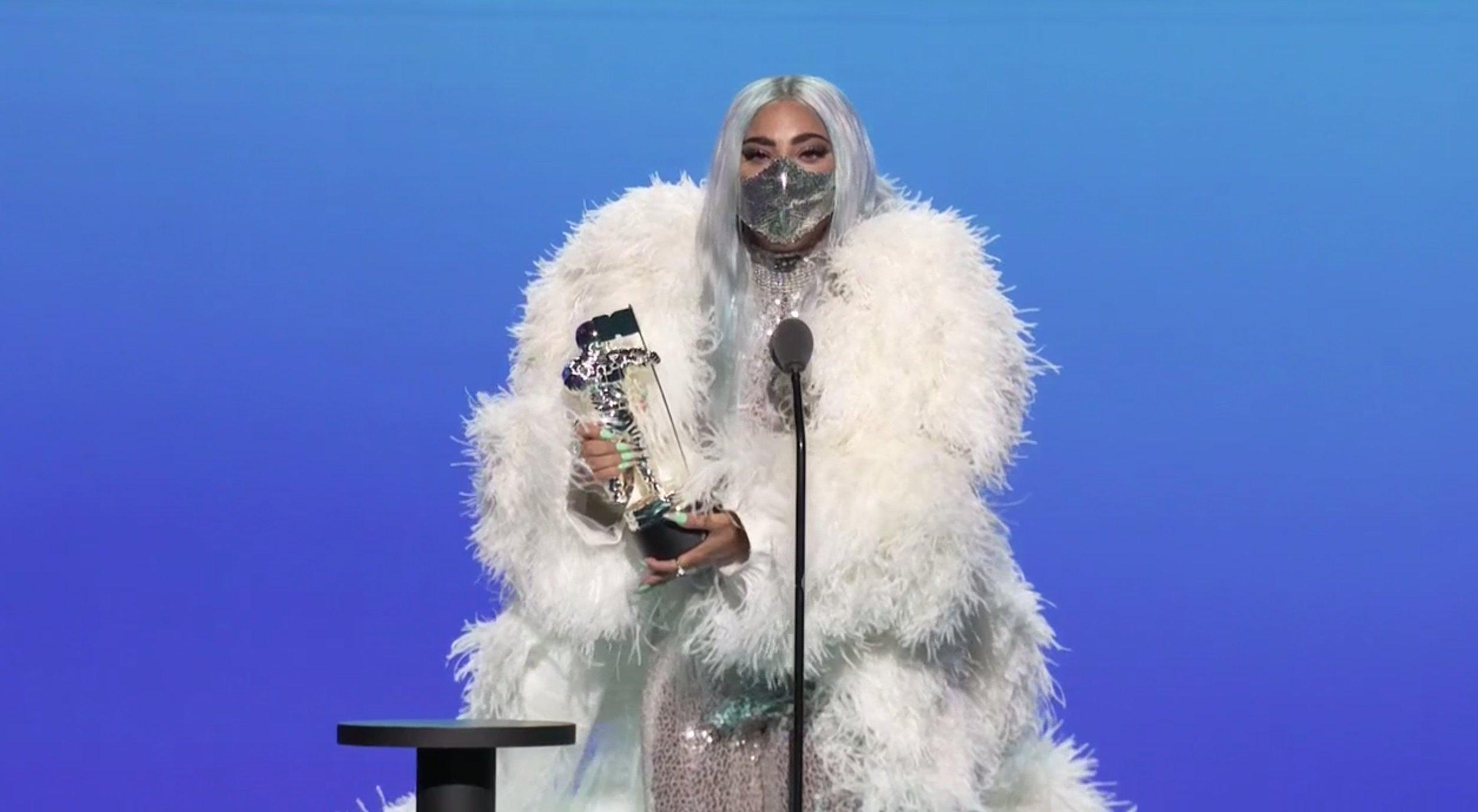 Lady Gaga wins Artist of the Year at the 2020 VMAs