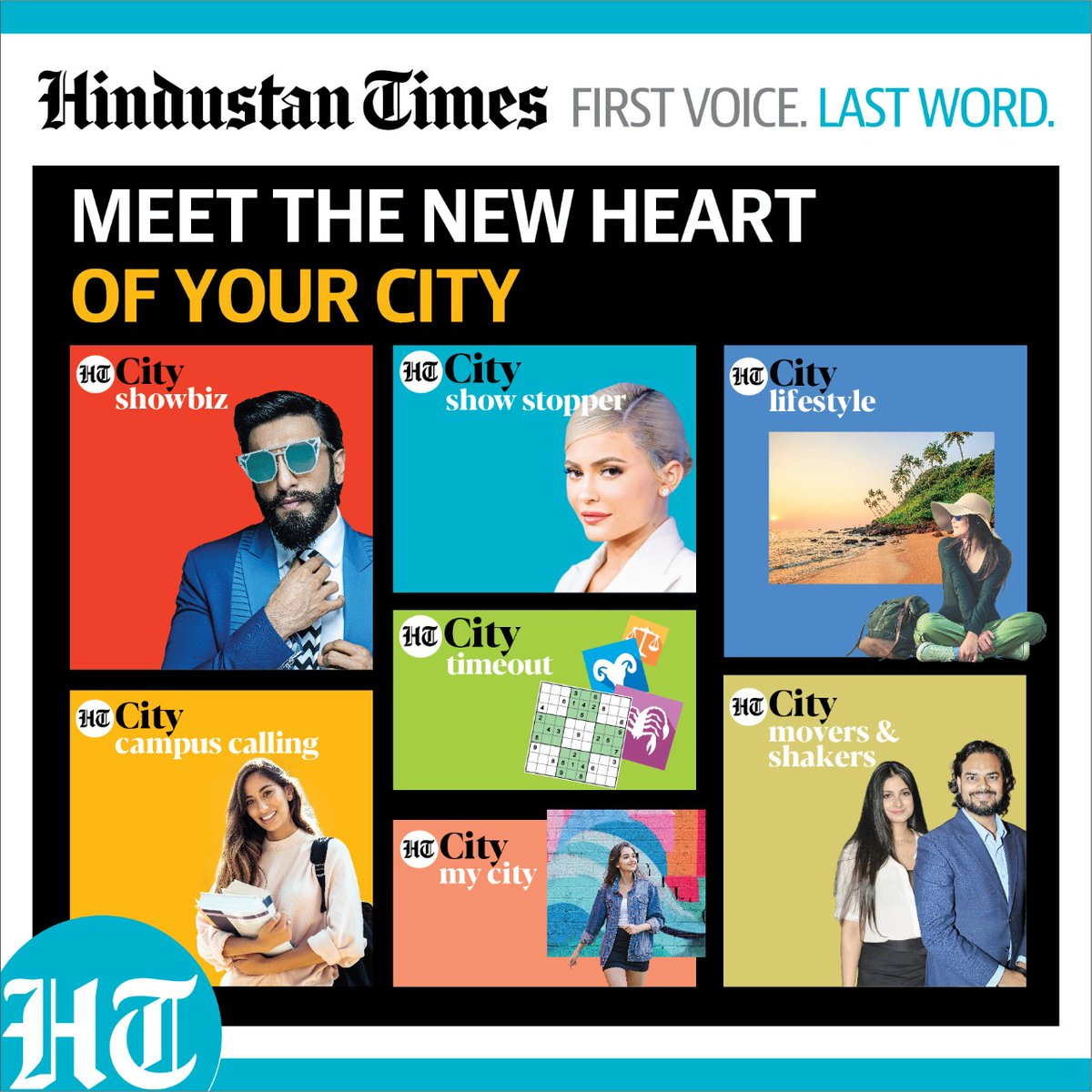 The all-new #HTCity is here! Your one stop destination for everything entertainment & Lifestyle!   Now Experience, Engage & Express with the All-New HTCity.  Subscribe to the #allnewHT https://t.co/TJyijJXge4 #HTfirstvoicelastword  @htTweets https://t.co/Iqz5W6j8lx