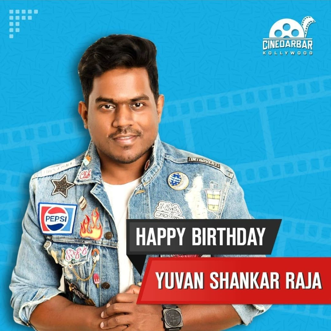 HBD 🎂 #yuvanshankarraja 🎹🎵🎙️ Follow ♥️#cinedarbar ♥️📲   #kollywood #kollywoodcinema #movies #music #songs #kollywoodmovies #musician #yuvanism #yuvan #yuvanvoice #yuvansongs #yuvanbgm #yuvanmusical #yuvanmagical #yuvanlove #yuvanforever #kollywoodsongsforever #birthdaypost https://t.co/i8zmmkXuc8