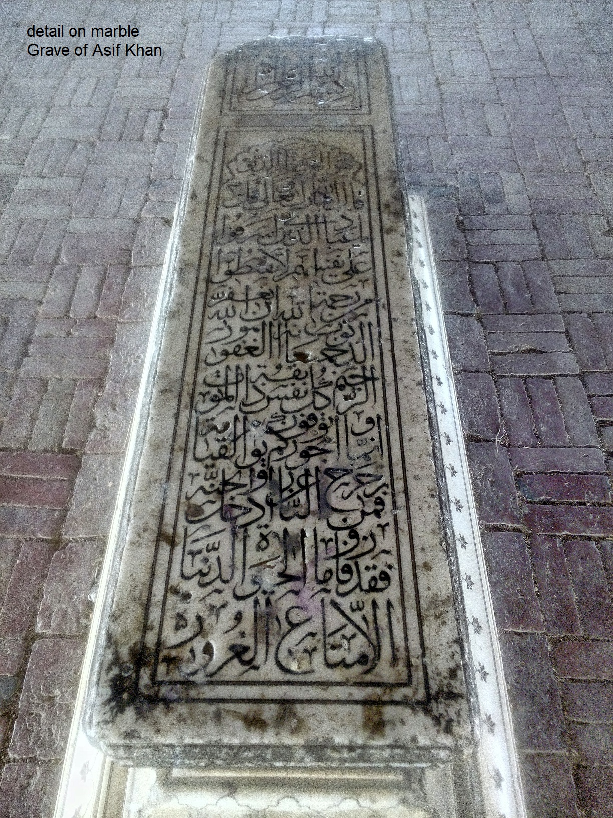 Asif Khan's tomb