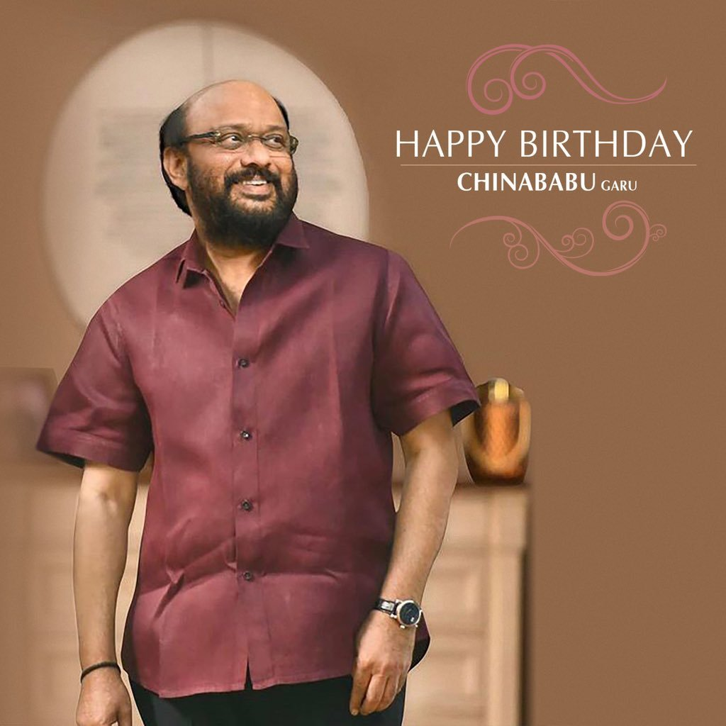 Wish u a very very happy birthday sir... Have a wonderful year filled with happiness and good health 💐💐💐💐 @haarikahassine https://t.co/qBfQyMkai7