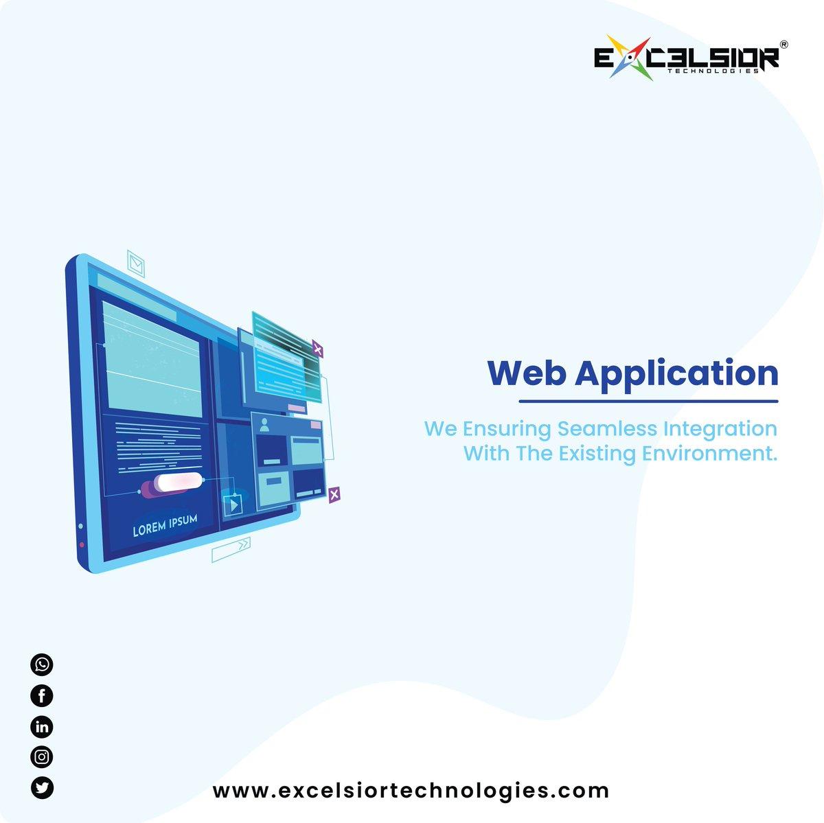 #WebApplication |We ensuring seamless integration with the existing environment.  Skype: excelsiortechnologies Email: info@excelsiortechnologies.com Portfolio: https://t.co/RtkshboWkz  #webapp #software #desktopapplication #restaurant #cafe #payroll #billing #HRMS #CRM #megamart https://t.co/K7ytX9PSX4