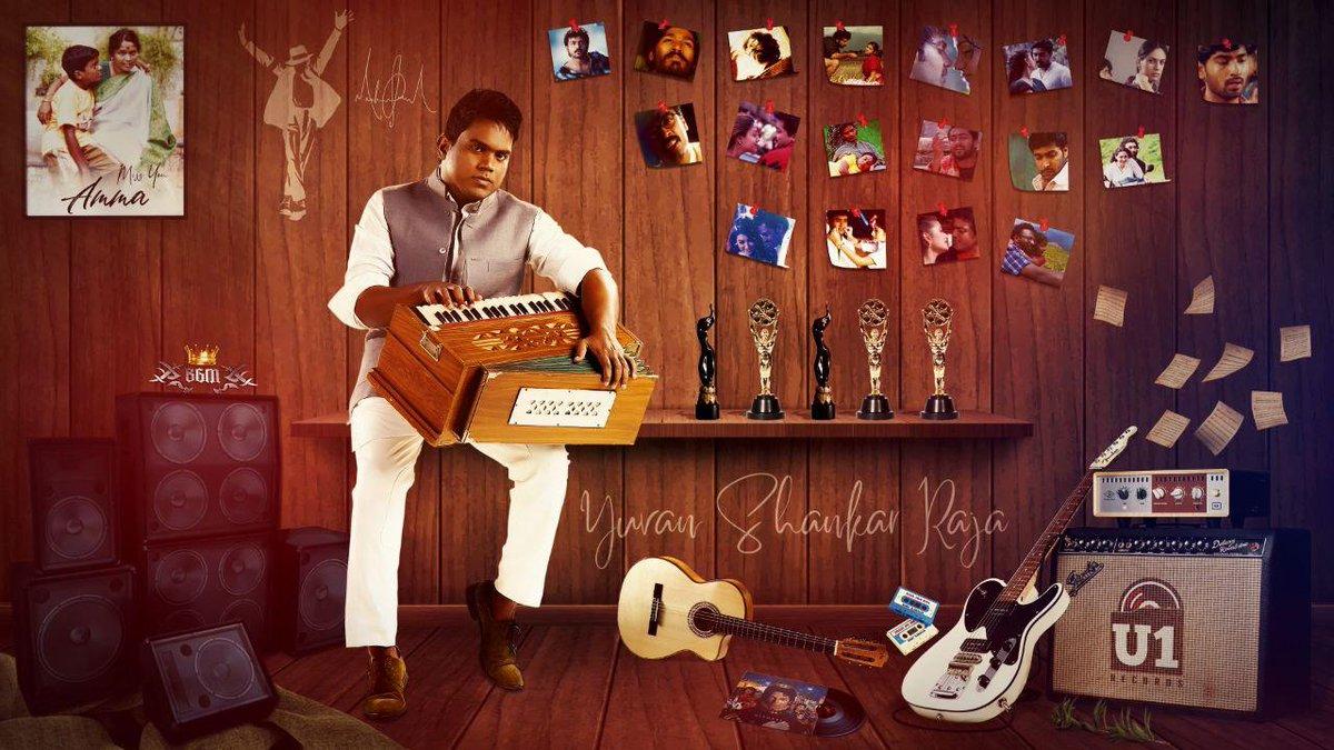 A Special Fan-Made Poster for the Maestro @thisisysr ❤️  Designed by @ArunSelvakumar_   #HBDYuvan #HBDDearYuvan #HappyBirthdayYuvan https://t.co/3uehiQpLt0
