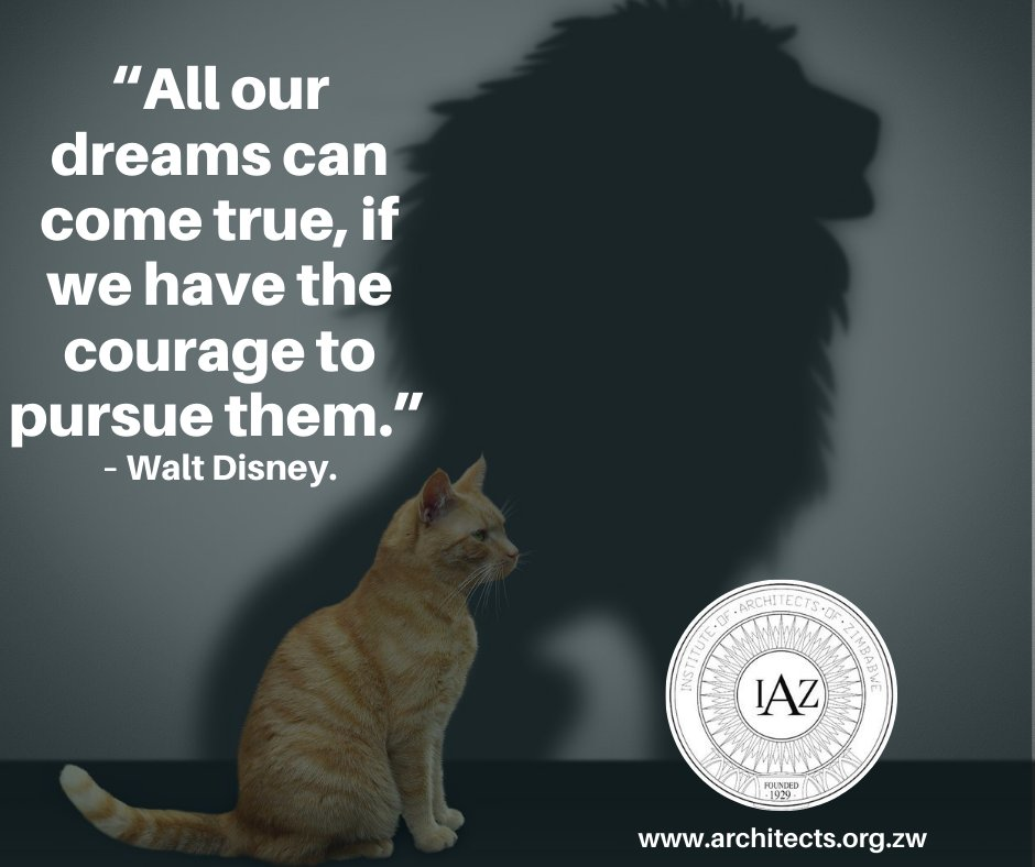 """""""All our dreams can come true, if we have the courage to pursue them."""" – Walt Disney. https://t.co/jsJgN2Iv7d"""