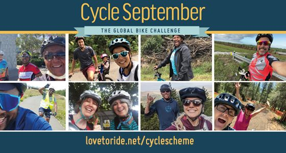 Are you ready to ride for #CycleSeptember? A fun, global competition to help more people realise the benefits of riding a bike. Earn points by riding anywhere, anytime - to the shops, to work or just a 10min spin round your local park - with AMAZING prizes! @LovetoRide #Cycling https://t.co/xXwmkbHUtr
