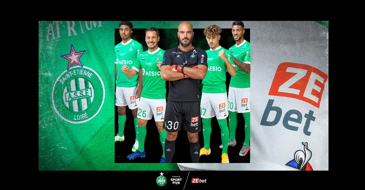 🇫🇷 With an assist from SPORTFIVE, AS Saint-Étienne and ZEbet renew their partnership for an additional two years.   The online betting site will be seen on the first team's shorts, in-stadium, print, and digital.   ▶️ https://t.co/BJsC0hpTew https://t.co/q0bVhvBM1s