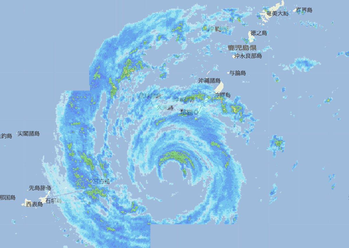 雨雲 沖縄 レーダー 予報 天気