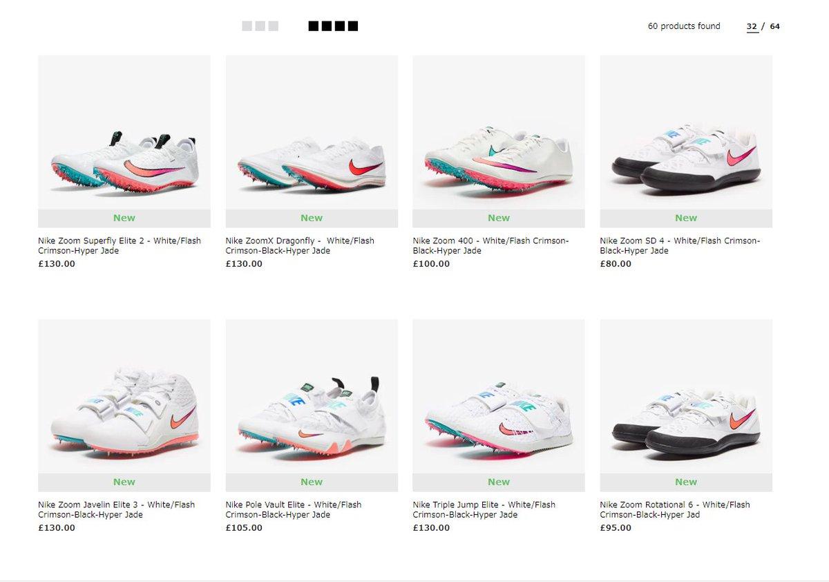 イギリスのあるサイト。 Z o o m X D r a g o n F L Y めっちゃ在庫あり。 良いサイズは、多分一瞬でなくなるんだろうなー。 Superfly Elite 2は売れ残りそう。 #ドラゴンフライ #ZoomXDragonfly #Nike2020 #ズームスパーフライエリート https://t.co/jFzAVc4bAQ
